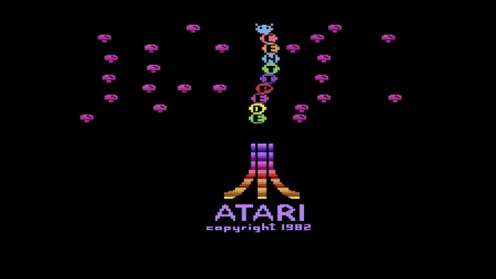 Atari Centipede Menu