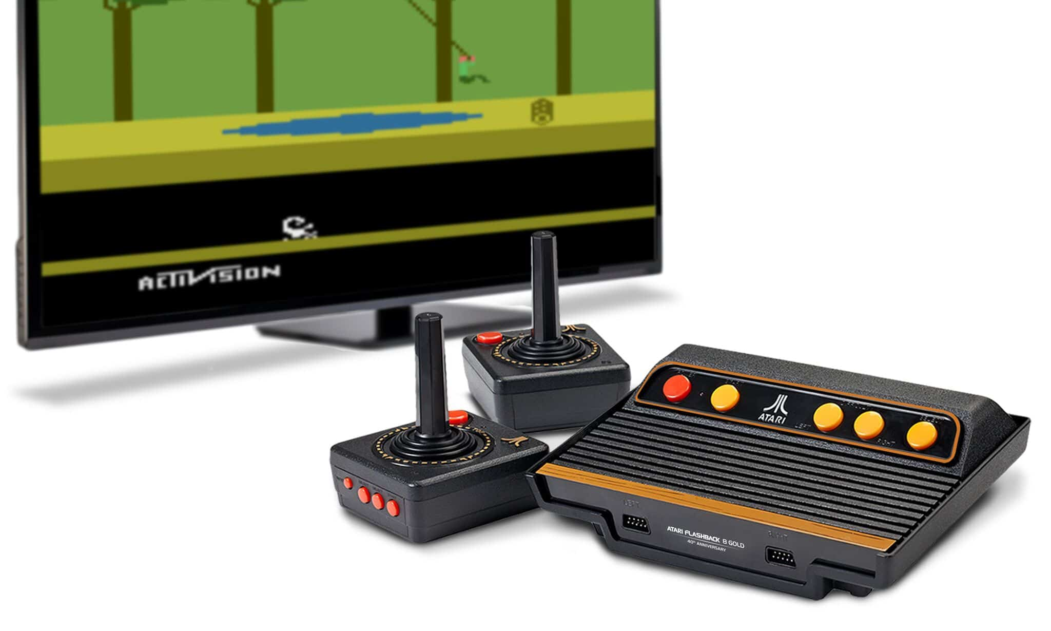 atari flashback 5 hook up The atari video music the video music hooks up to a tv through an rf switchbox the other hook ups are left and right rca jack inputs that hook up to an audio.