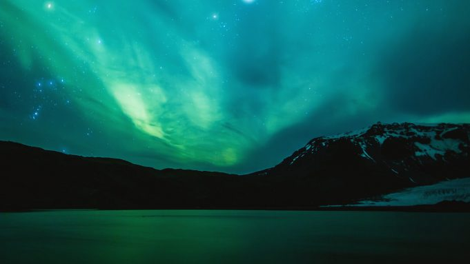 Aurora Borealis Iceland Video Clinton Stark
