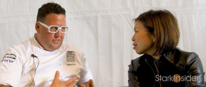 Chef Graham Elliot Interview with Loni Stark PBFW