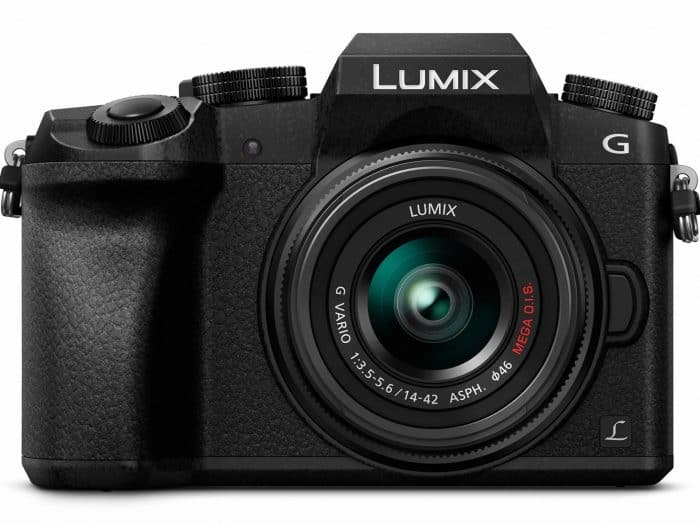 Panasonic Lumix G7 4K Mirrorless Camera with 14-42mm Lens