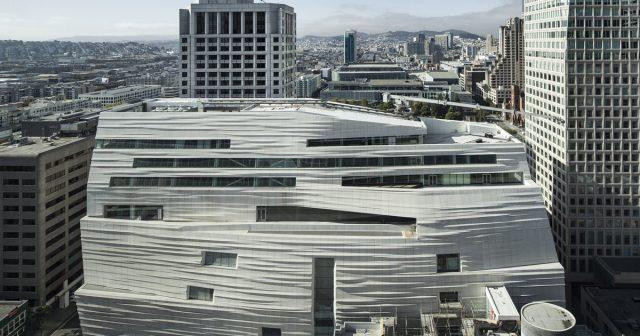 San Francisco Museum of Modern Art Renovation Exterior