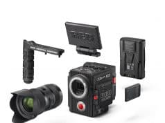 RED RAVEN Camera Kit + Final Cut Pro X