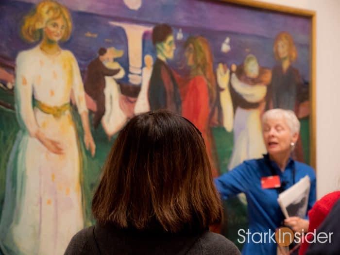 Edvard Munch at SFMOMA Tour / Loni Stark and C.J. Feinberg
