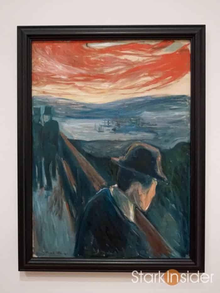 Sick Mood at Sunset: Despair by Edvard Munch / SFMOMA Video
