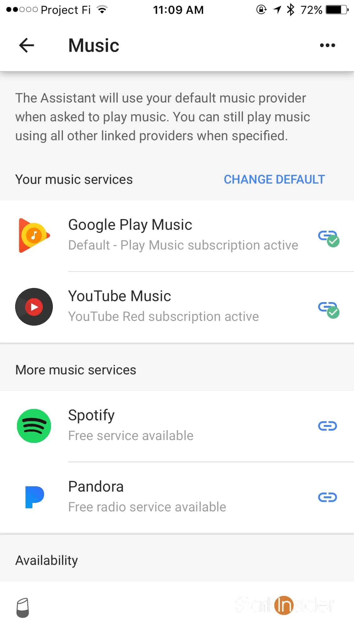 google home spotify free