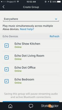 How to enable Multi-Room Music on Echo speakers