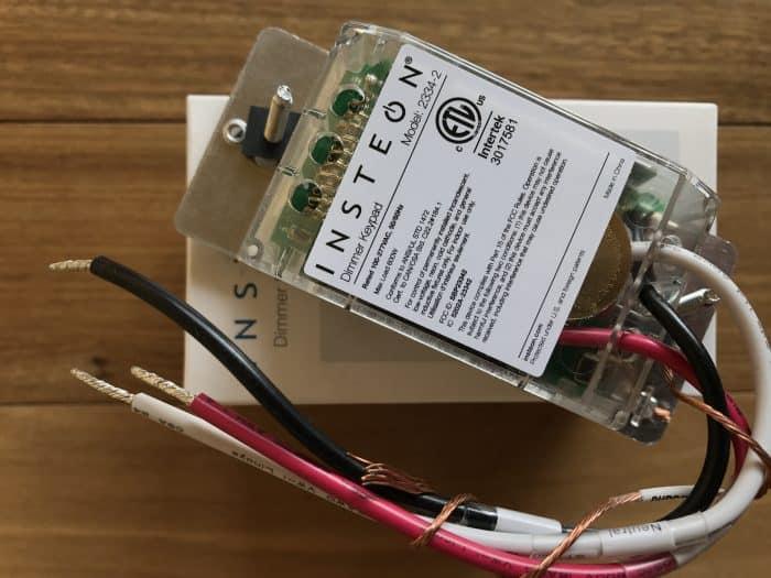 Insteon Dimmer Keypad 2334-232