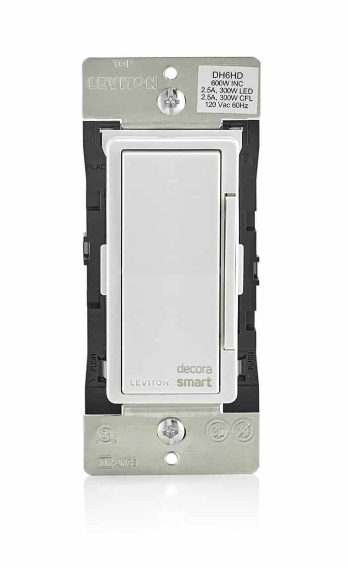 Smart Home Dimmer Switch Buying Guide Which Is Best Stark Insider Radiora 2 3 Way Leviton Dh6hd 1bz 600w Decora Homekit Review