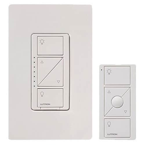 Lutron P-PKG1W-WH Caseta Wireless Dimmer Switch Review - Comparison Insteon