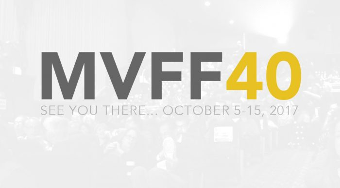 Mill Valley Film Festival (MVFF40) - See you there.