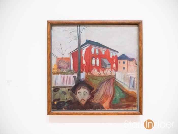 Red Virginia Creeper. 1898-1900 by Edvard Munch.