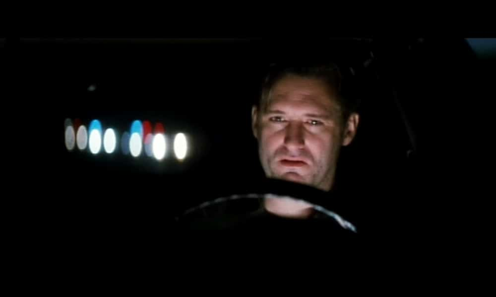 Bill Pullman in David Lynch's masterful enigma Lost Highway with cinematography by Peter Deming.