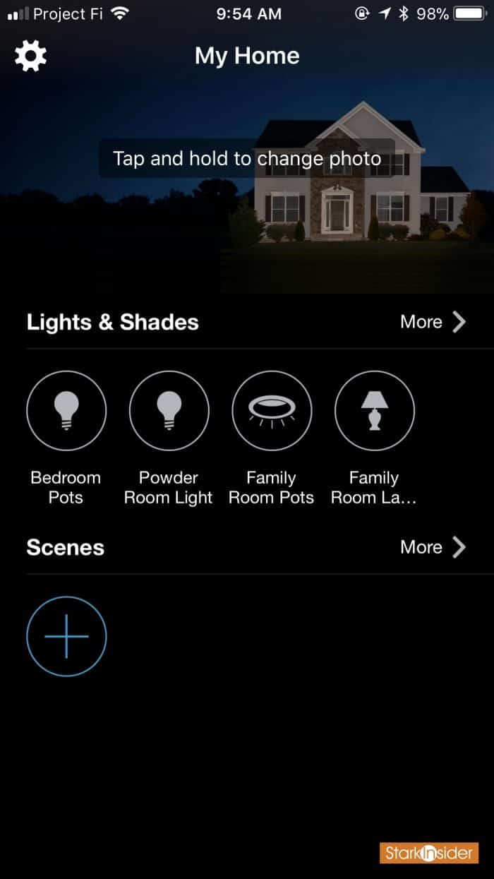 Lutron Caseta App for iOS