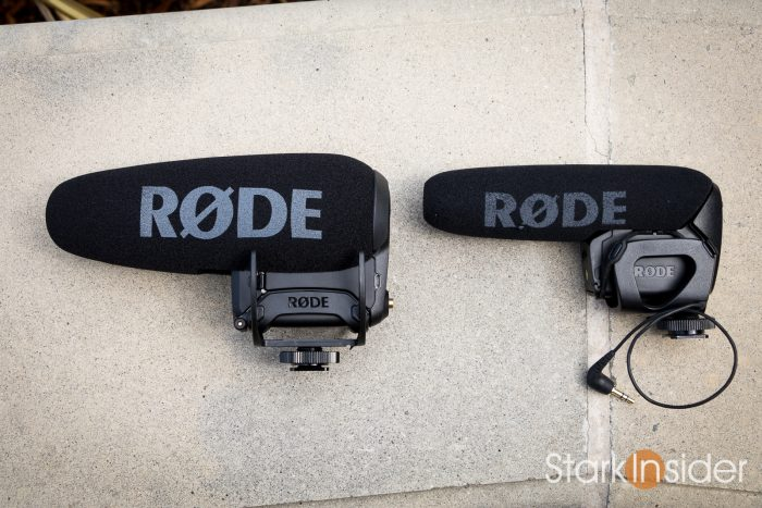 Rode VideoMic Pro+ size comparison with old Rode VideoMic Pro