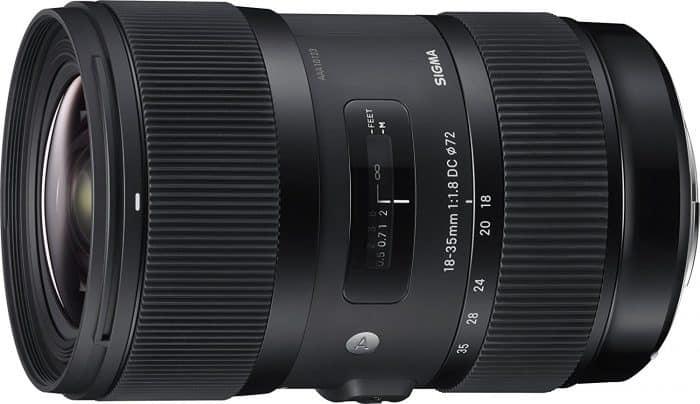 Sigma 18-35mm F1.8 Art DC HSM Lens for Panasonic GH5 with Metabones Speedbooster Ultra