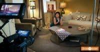 BTS: Loni Stark shooting Stark Insider short film (Rosemary's Baby Scrabble scene)
