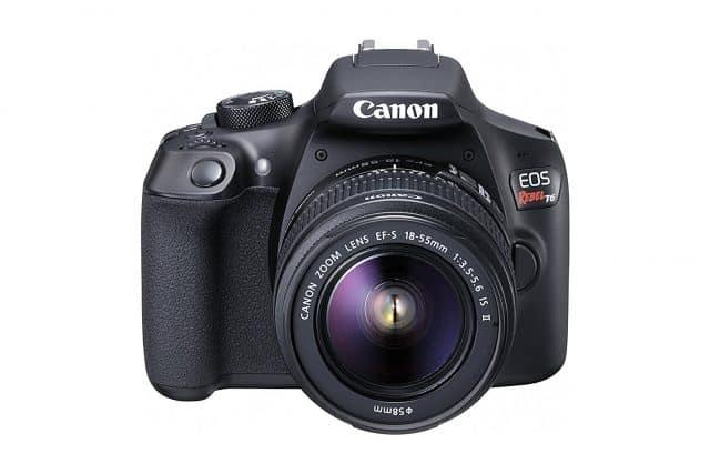 Canon Rebel T6 DSLR Camera - Black Friday Deal