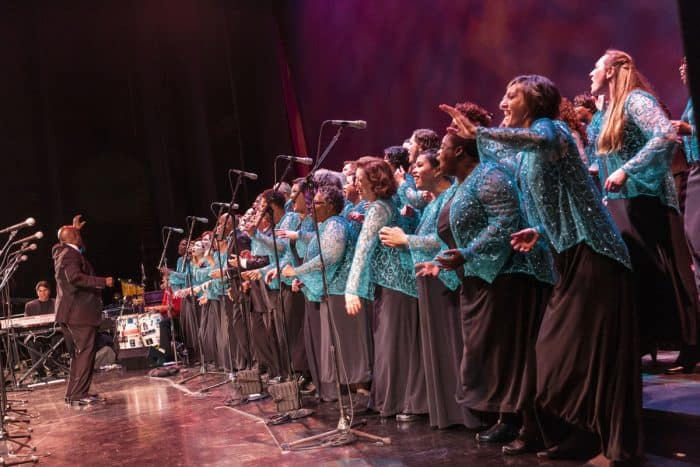 Oakland Interfaith Gospel Choir By Matt Beardsley