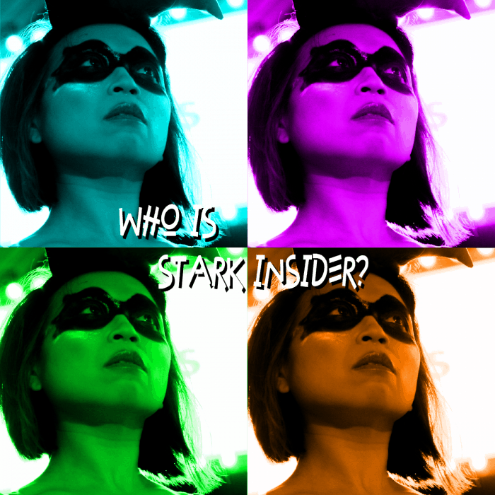 Who is Stark Insider? Loni Stark as Harley Quinn.