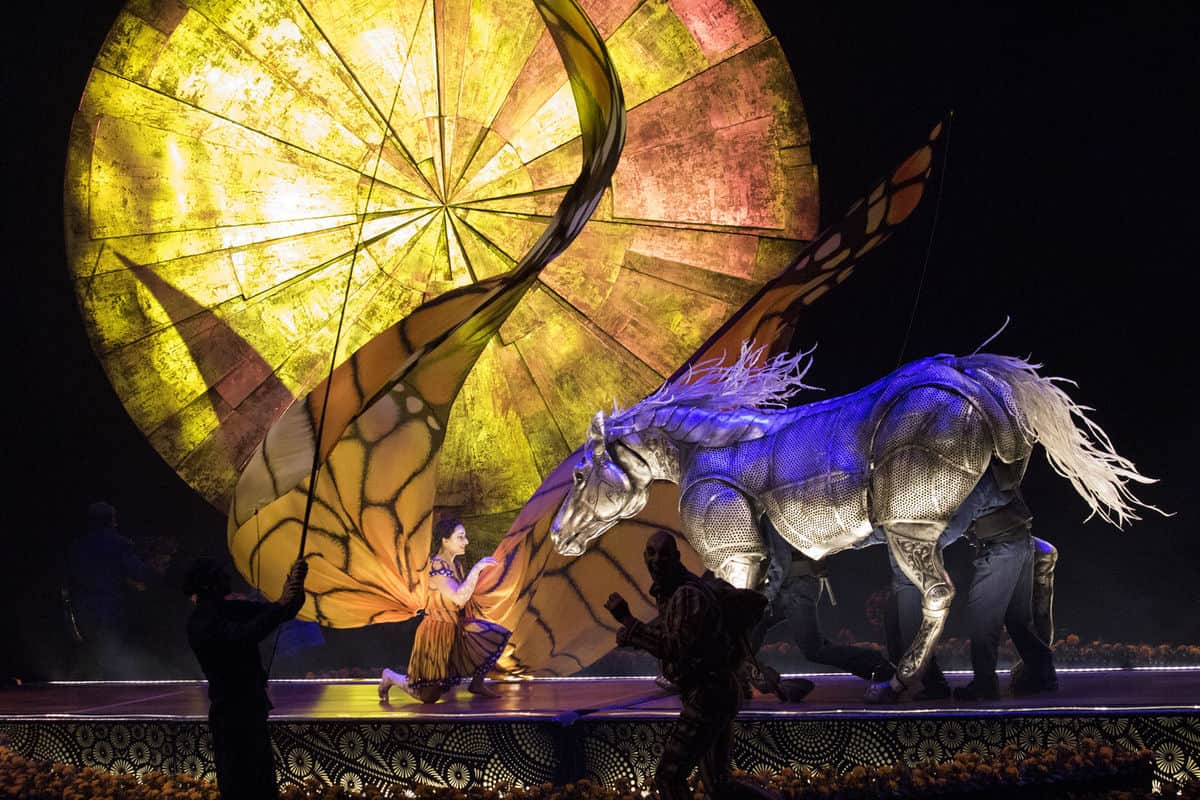 Luzia by Cirque du Soleil opens at Dodger Stadium, Los Angeles