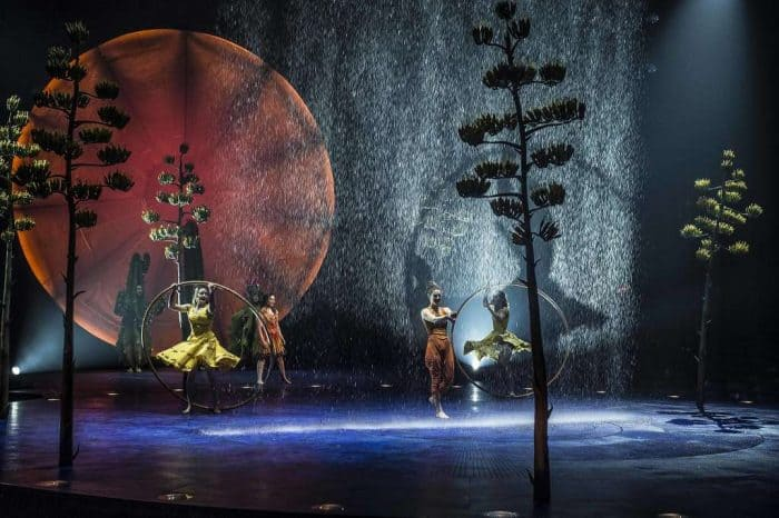 Luzia by Cirque du Soleil opens at Dodger Stadium, Los Angeles
