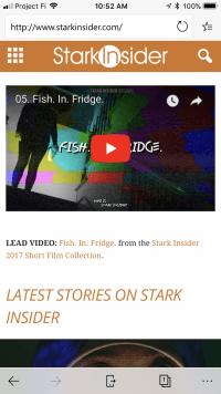Stark Insider on Microsoft Edge