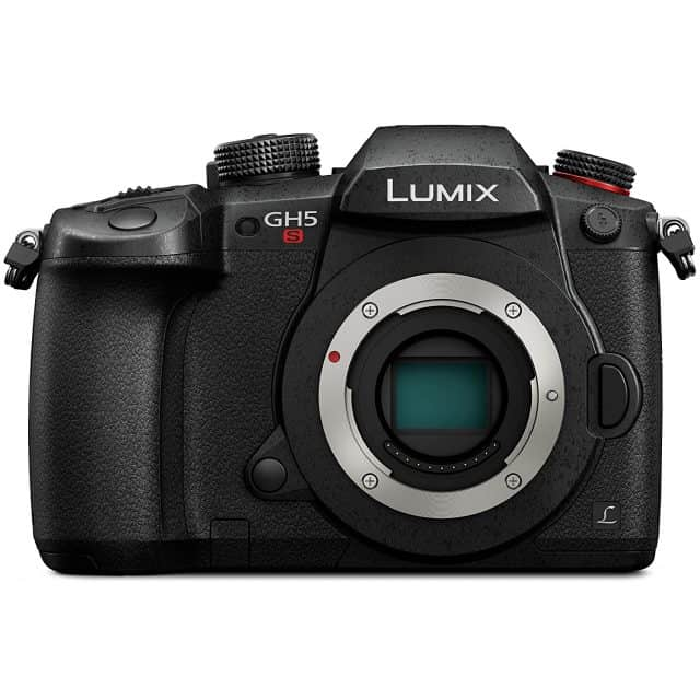 Panasonic (DC-GH5S) Lumix GH5s Body C4K Mirrorless Camera with High Sensitivity Mos Multi-Aspect 10.2 Megapixels Sensor, Black