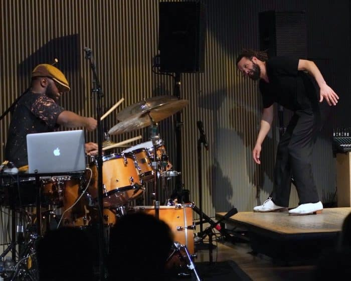 Marcus Gilmore and Savion Glover perform at SFJAZZ in San Francisco.
