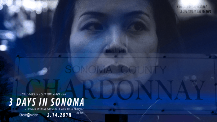 Loni Stark in 3 DAYS IN SONOMA short film by Clinton Stark