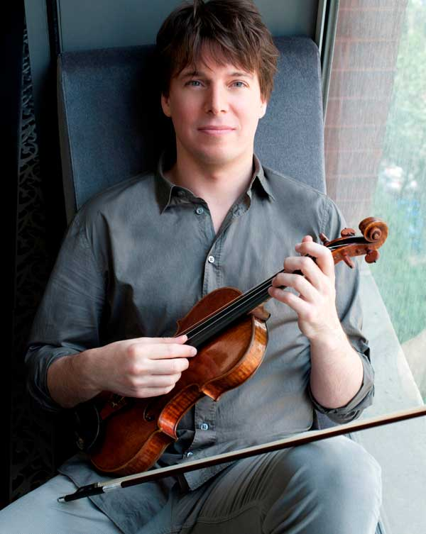 Joshua Bell to perform at Festival Napa Valley