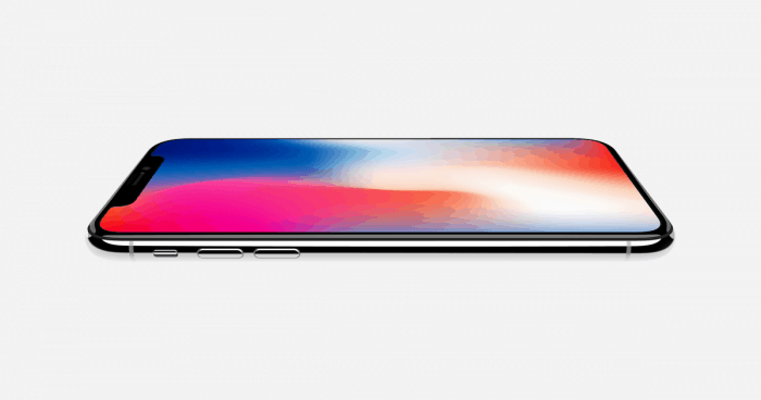 Apple goes upscale with iPhone X