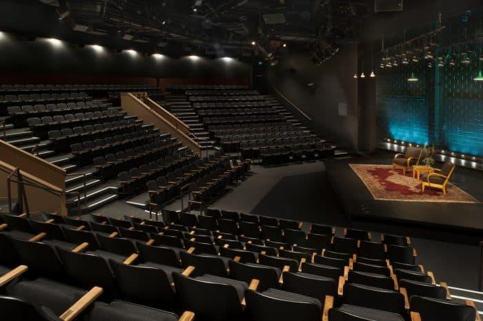 Berkeley Rep Peets Theater space interior