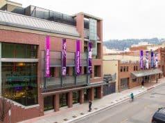 Berkeley Repertory Theatre season announcement external building