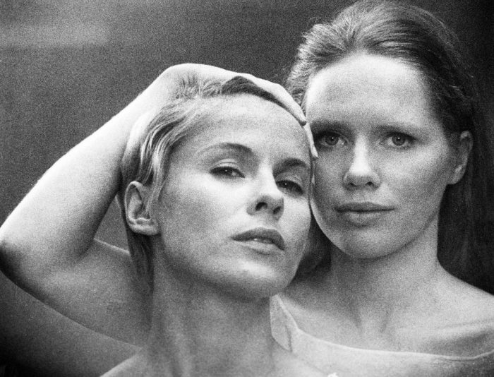 Bibi Andersson and Liv Ullmann in Persona by Ingmar Bergman