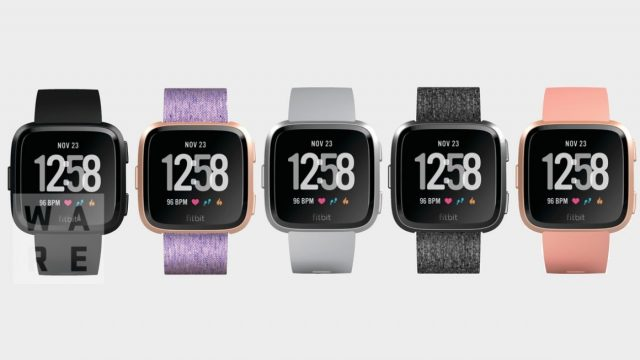 Fitbit versa colors and straps