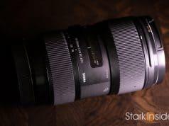 Sigma 18-35mm lens for video, wedding, films