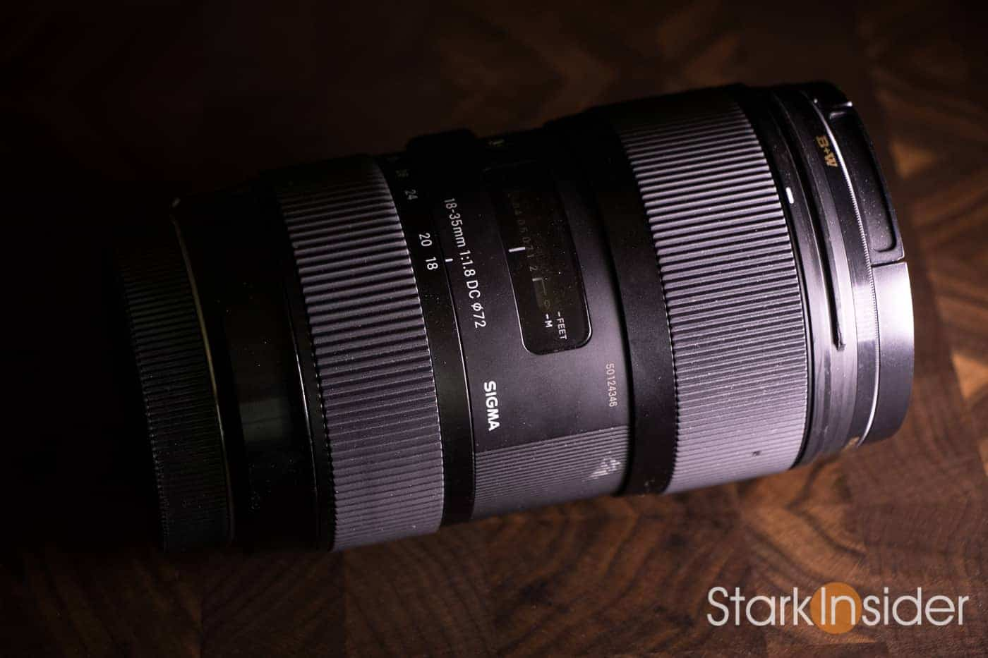 Top 10 Best Lenses for Video: #1 Sigma 18-35mm f/1 8 ART