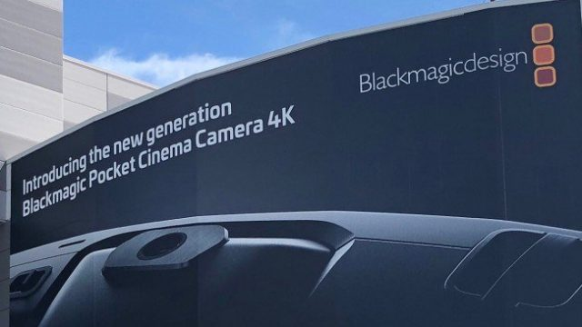 Blackmagic Pocket Cinema Camera 4K news update