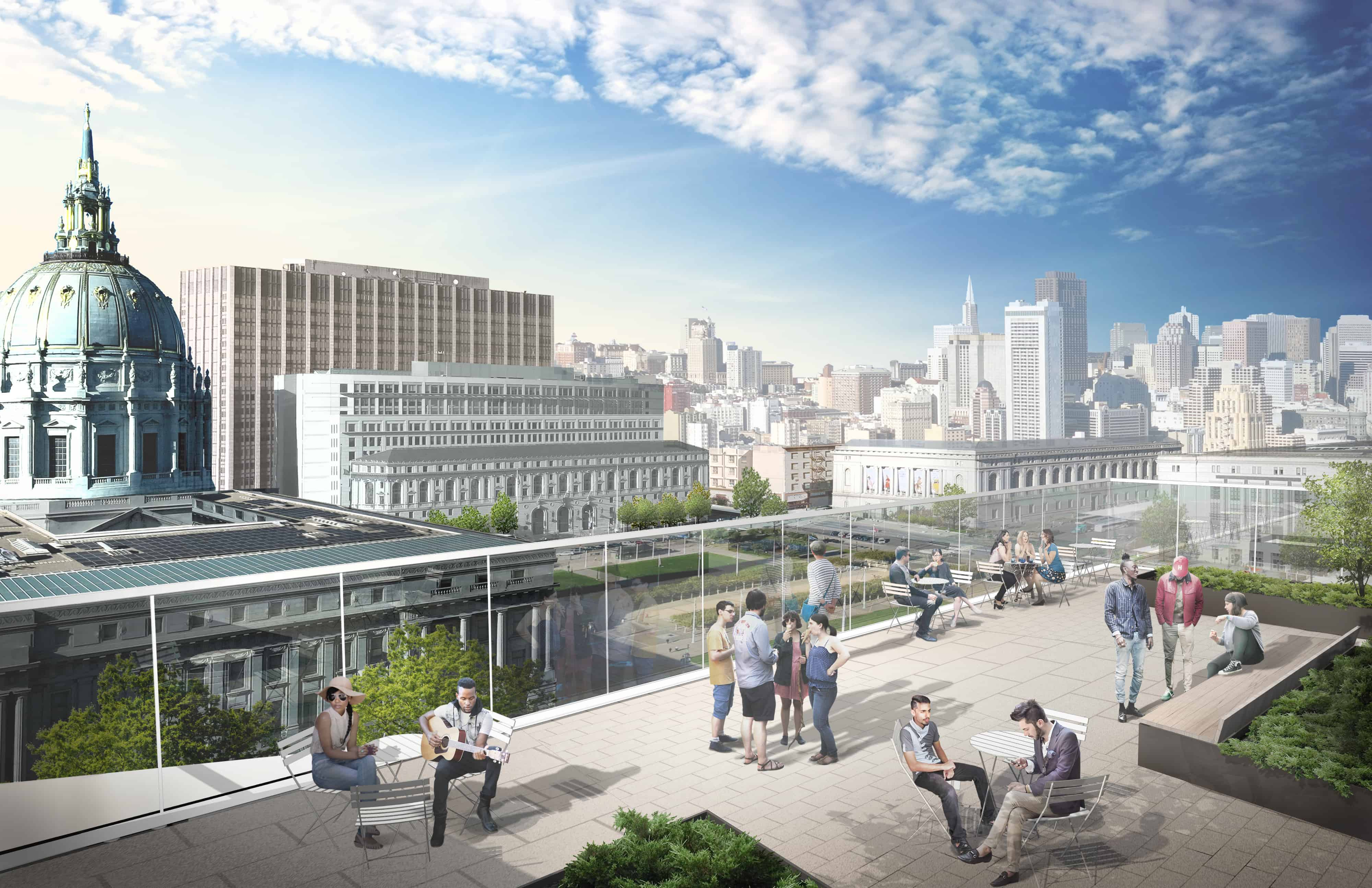 Groundbreaking for new San Francisco Conservatory of Music