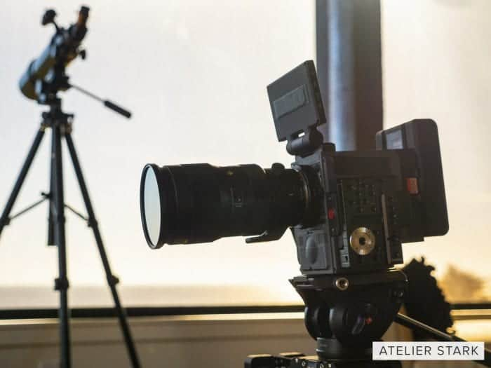 RED Scarlet-W with Sigma 50-100mm ART 1.8 telephoto lens
