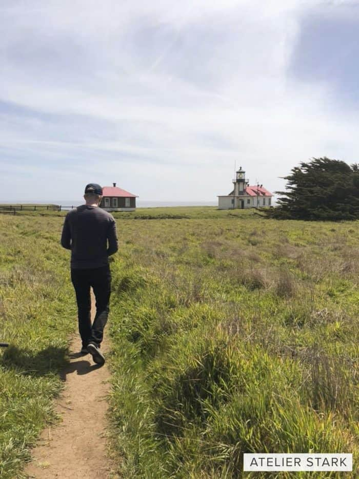 Shooting on location in Mendocino for Atelier Stark short film project.
