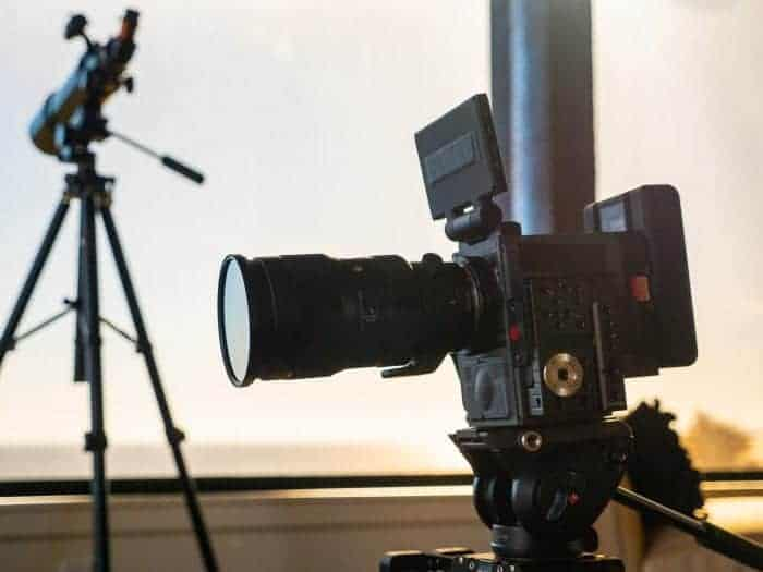 RED Scarlet-W with Sigma 50-100mm lens