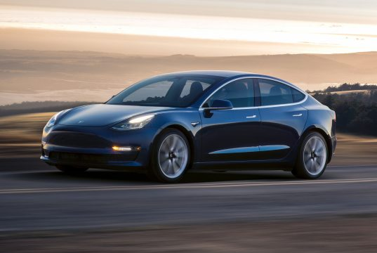Tesla Model 3 shareholder sales report