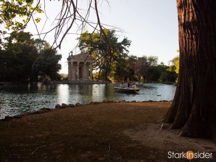 Borghese Gardens - Rome, Italy