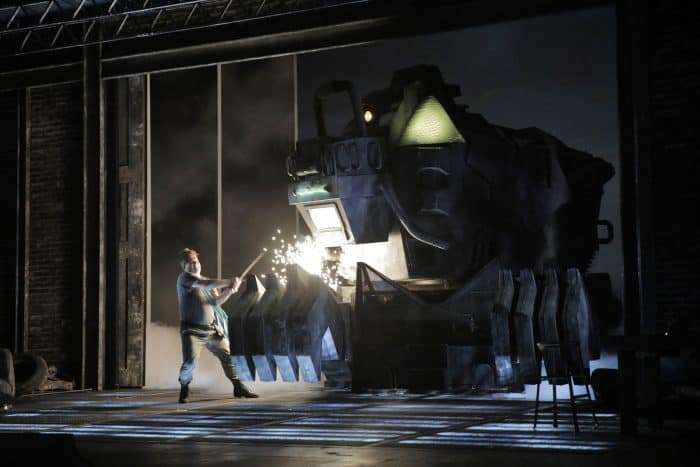 San Francisco Opera - Fafner, the dragon
