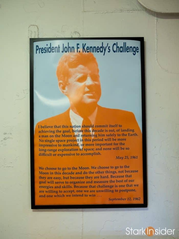 President John F. Kennedy Space Challenge - USS Hornet