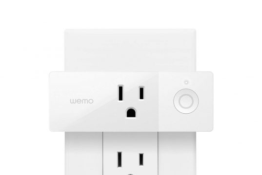 Wemo Mini Smart Plug, Wi-Fi Enabled, Works with Alexa and Google Assistant and Apple HomeKit