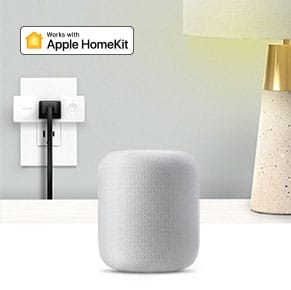Wemo Mini Smart Plug, Wi-Fi Enabled, Works with Alexa and Google Assistant