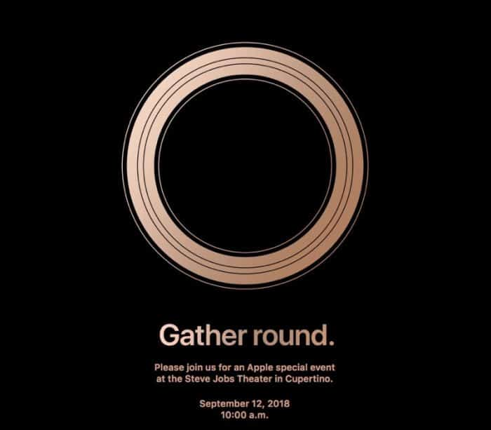 Gather Round. Apple special event at the Steve Jobs Theater in Cupertino